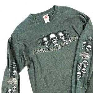 Harley-Davidson Men's Long Sleeve Tee Rockford